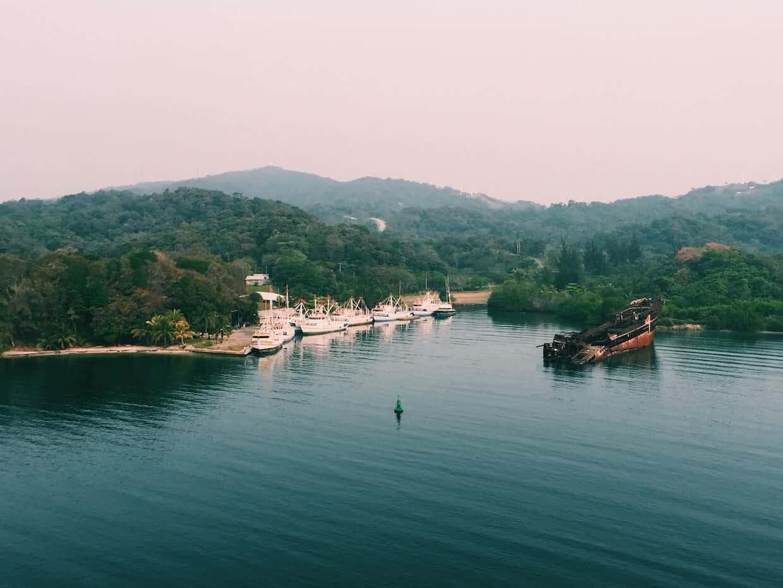 Landskab fra det kaffeproducerende land Honduras