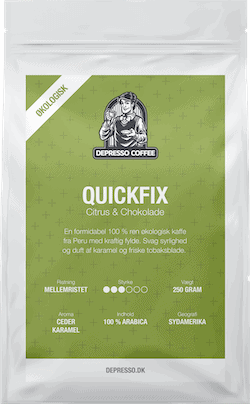 Depresso kaffe Quickfix