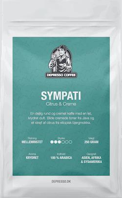 Depresso kaffe Sympati